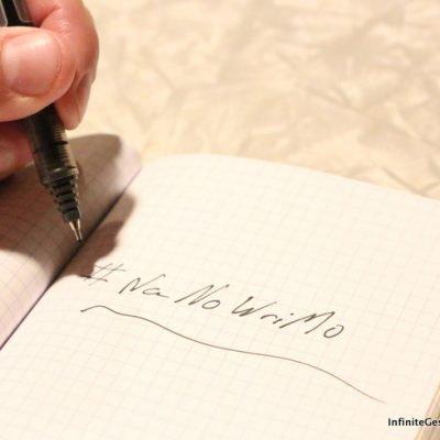 National Novel Writing Month – #NaNoWriMo   Episode 019