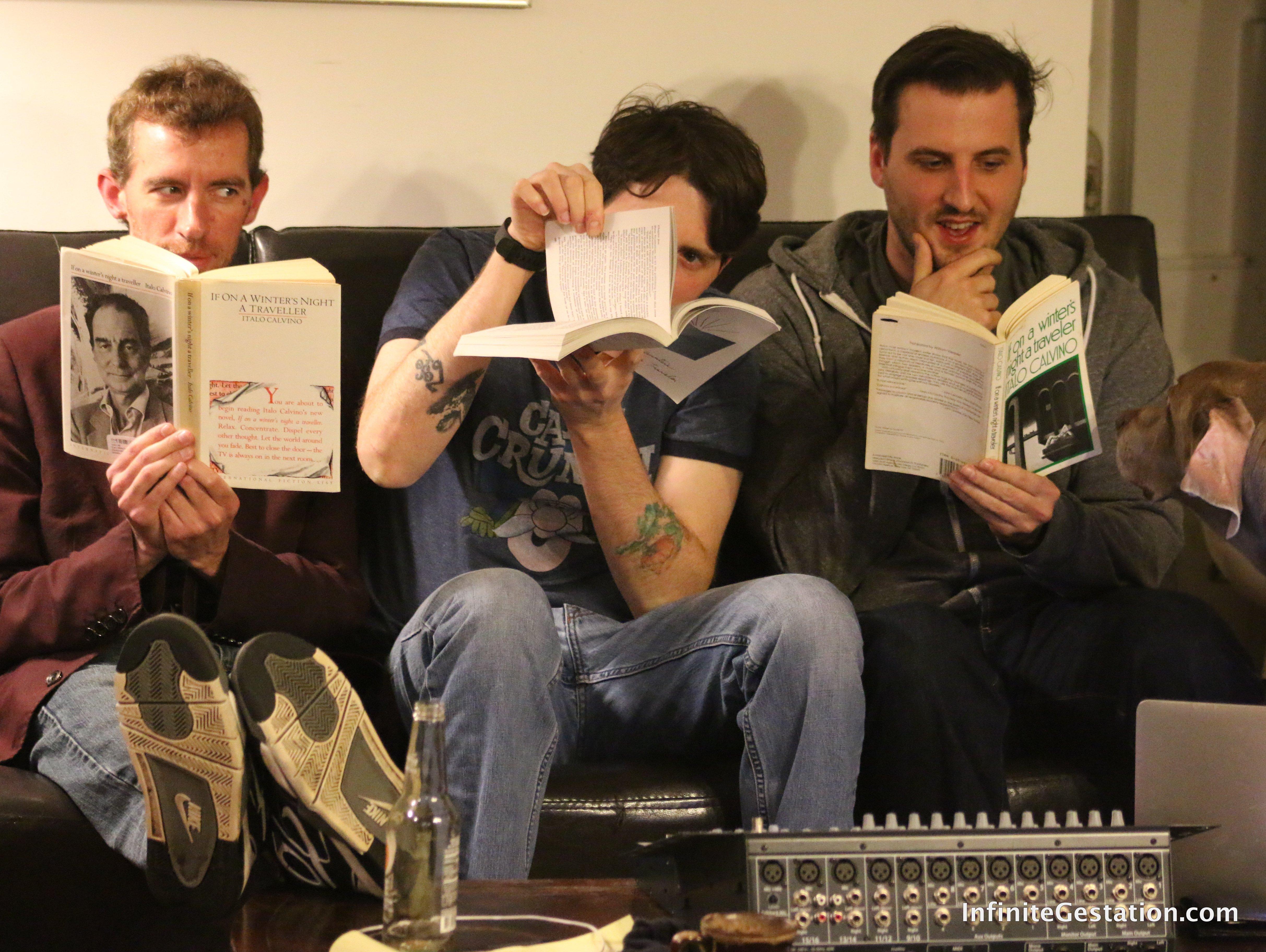 If on a Winter's Night a Traveler … Three Guys Discuss a Novel – Italo Calvino | Episode 031